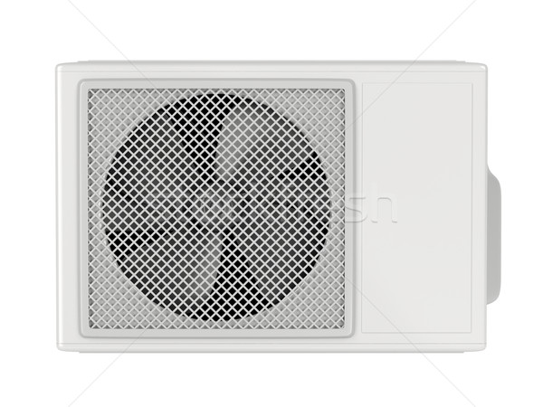 Outdoor unit of split system air conditioner Stock photo © magraphics