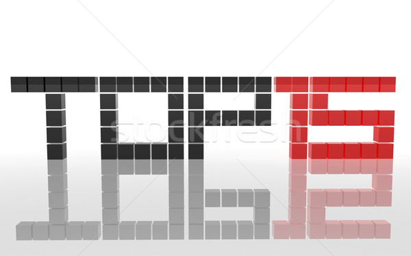 Top 15 afbeelding tekst business vak Stockfoto © magraphics