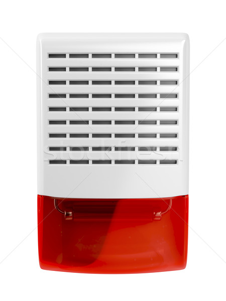 Alarm siren with flash light Stock photo © magraphics