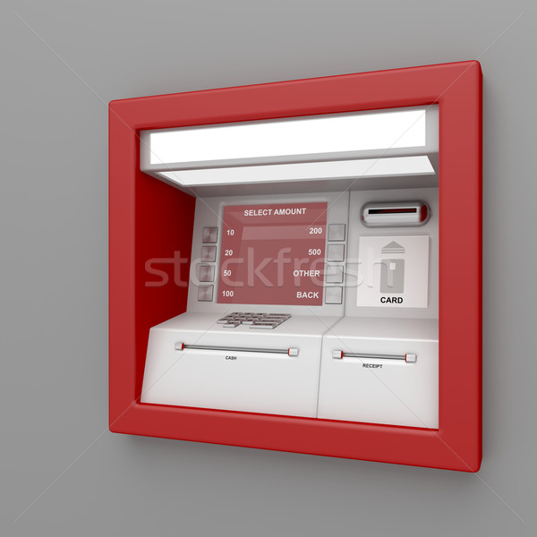 ATM machine Stock photo © magraphics