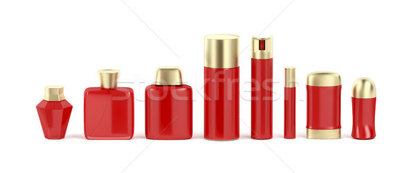 Set of cosmetic products Stock photo © magraphics