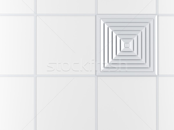 Air vent on the ceiling Stock photo © magraphics