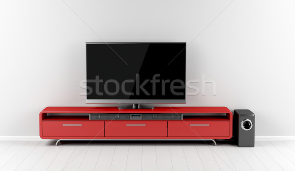 Home entertainment system Stock photo © magraphics