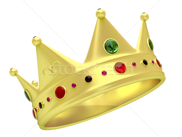 Golden crown Stock photo © magraphics