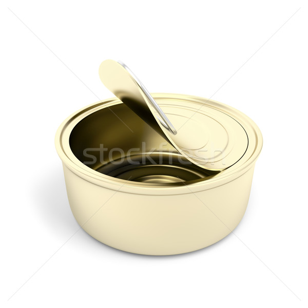 Empty pate can Stock photo © magraphics