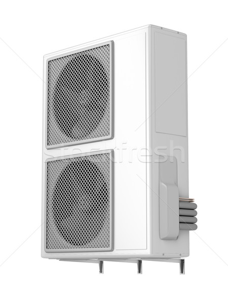Big air conditioner Stock photo © magraphics