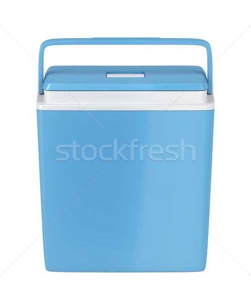 Blue cooling box Stock photo © magraphics