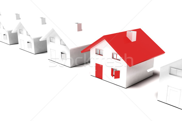Unique house concept Stock photo © magraphics