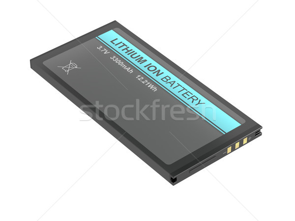 Batterij smartphone tablet camera ander Stockfoto © magraphics