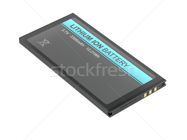 Bateria comprimido câmera outro dispositivos Foto stock © magraphics