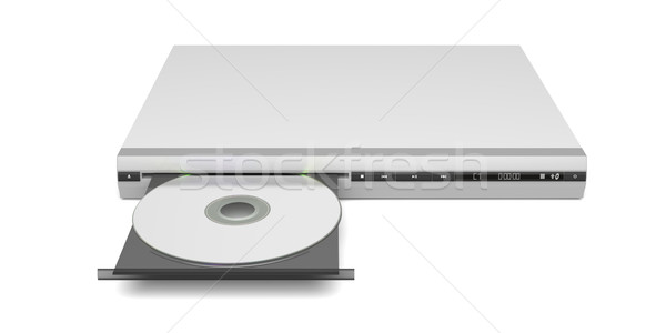 Front view of disc player Stock photo © magraphics