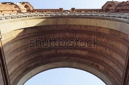 ボトム 表示 アーク バルセロナ スペイン ストックフォト © magraphics