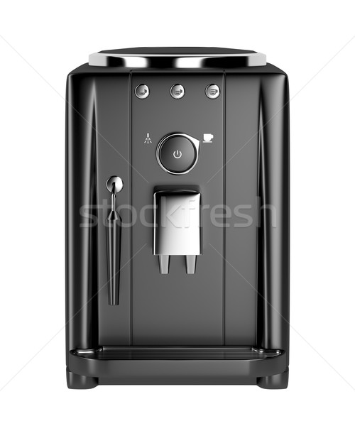 Front view of automatic coffee machine  Stock photo © magraphics