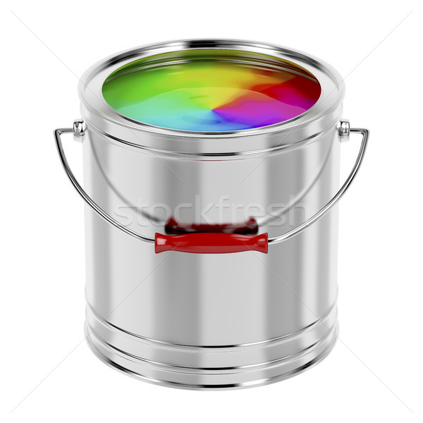 Multicolor paint Stock photo © magraphics