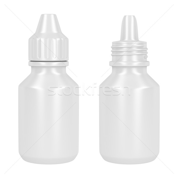 Containers for eye drop Stock photo © magraphics