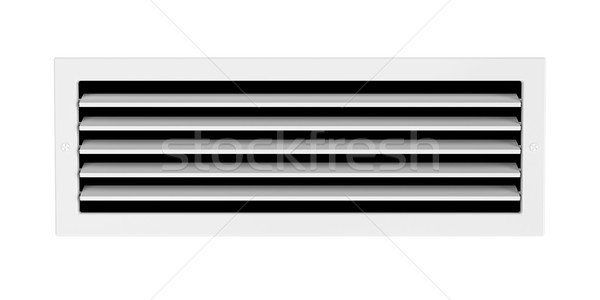 Air vent isolated on white  Stock photo © magraphics