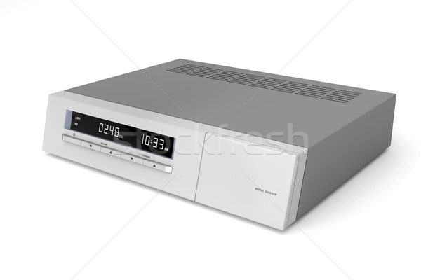 Digital satellite receiver Stock photo © magraphics