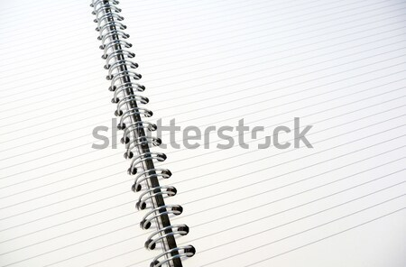 White lined notepad Stock photo © magraphics