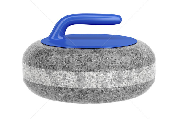 Side view of curling stone Stock photo © magraphics