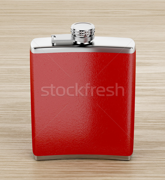 Hip flask Stock photo © magraphics