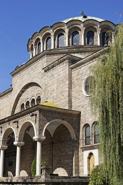 Templom szent keleti ortodox Szófia Bulgária Stock fotó © magraphics