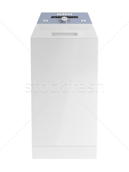 Top loading washing machine Stock photo © magraphics