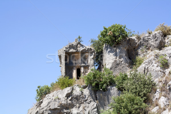 Lycian tomb Stock photo © magraphics