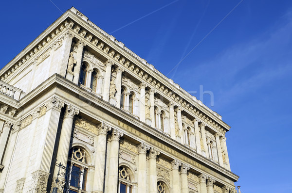 Hungarian Academy of Science building Stock photo © magraphics