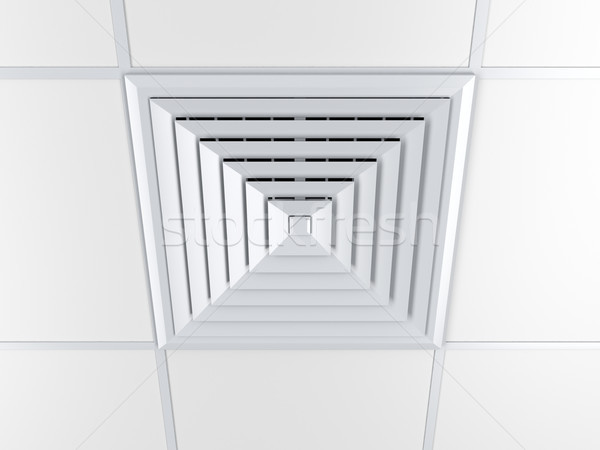 Air vent on a ceiling Stock photo © magraphics
