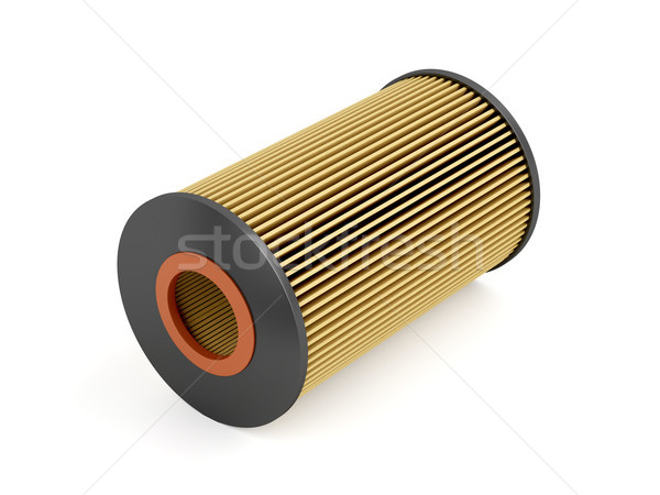 Automotive oil filter Stock photo © magraphics
