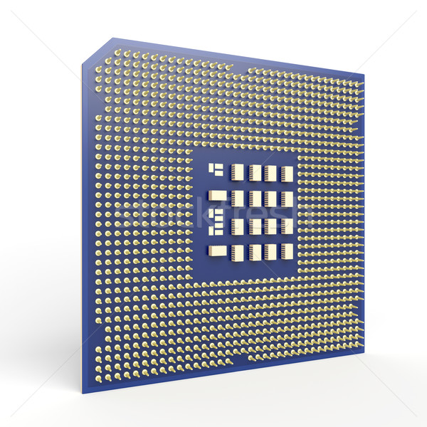 Computer processor Stock photo © magraphics