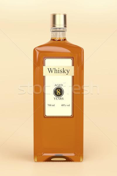 Whisky bottle Stock photo © magraphics