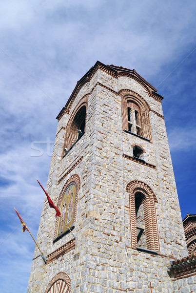 Saint Panteleimon church in Ohrid Stock photo © magraphics