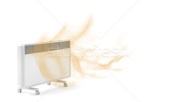 Electric convection heater Stock photo © magraphics