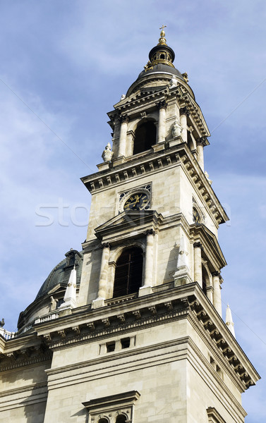 Harang torony bazilika Budapest Magyarország épület Stock fotó © magraphics