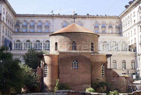 Iglesia Sofía Bulgaria arquitectura antiguos religión Foto stock © magraphics