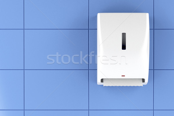Paper towel dispenser Stock photo © magraphics