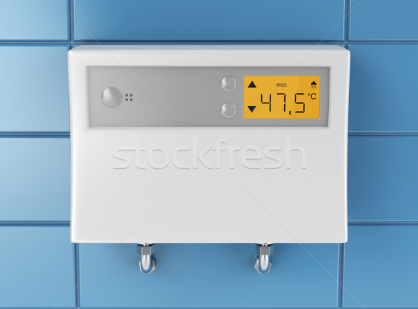 Water heater in bathroom  Stock photo © magraphics