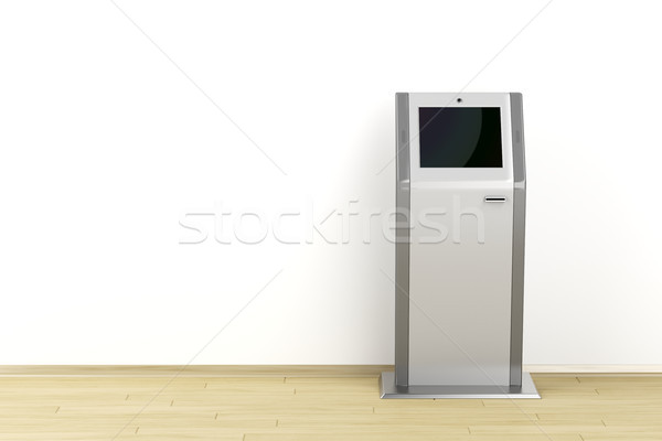 Digital information kiosk Stock photo © magraphics