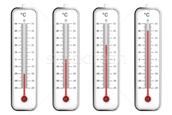Celsius escala diferente pared instrumento Foto stock © magraphics