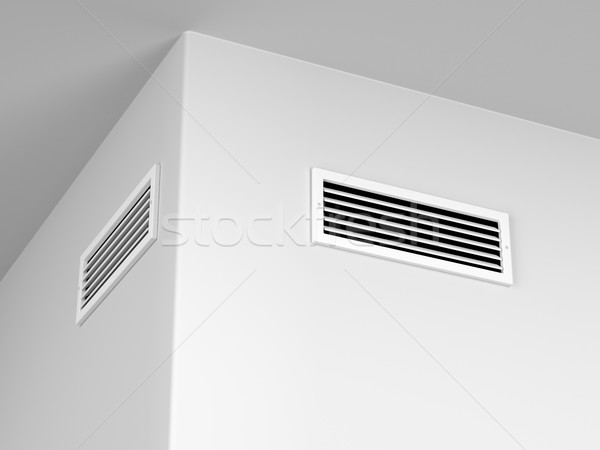 Air vents on the wall  Stock photo © magraphics