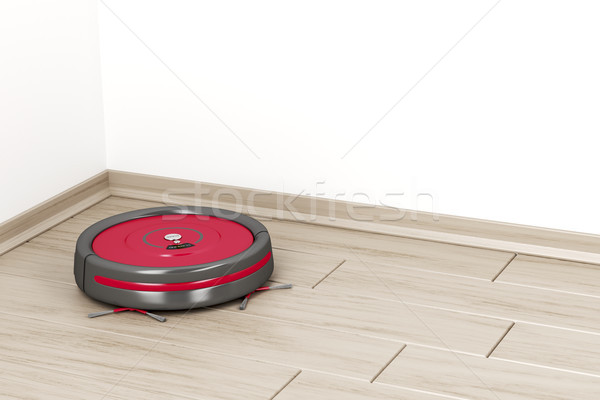 Robot vacuum cleaner  Stock photo © magraphics