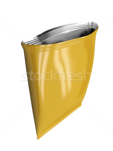 Open foil bag Stock photo © magraphics