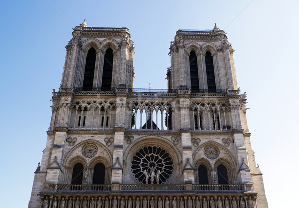 Notre Dame Cathedral in Paris Stock photo © magraphics