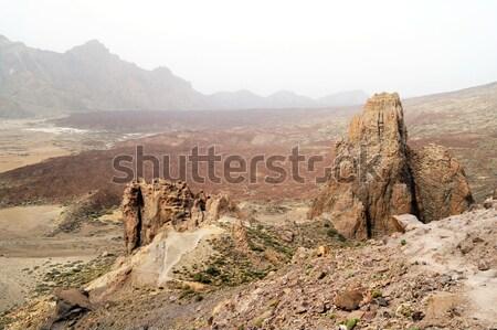 Parque tenerife paisagem ilha Espanha deserto Foto stock © magraphics