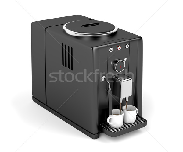 Automatic coffee machine  Stock photo © magraphics
