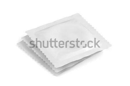 óvszer csoport fehér egyéb tárgyak táska Stock fotó © magraphics
