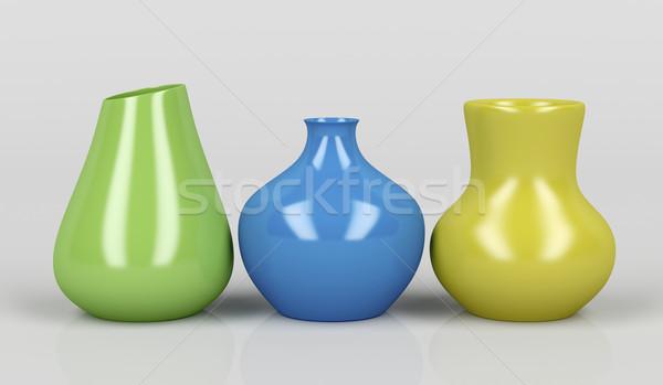 Porcelain vases Stock photo © magraphics