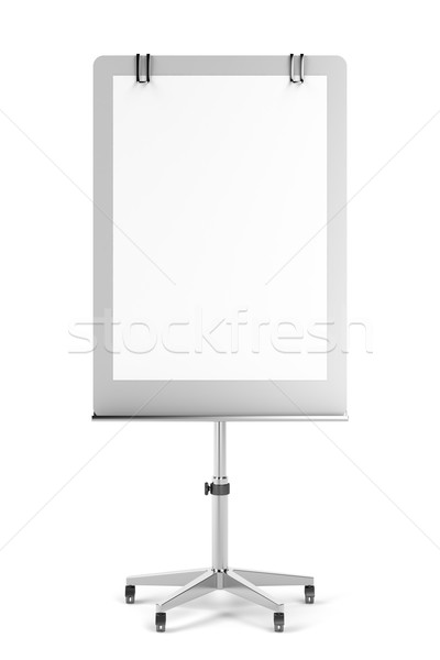 Blank flip chart Stock photo © magraphics