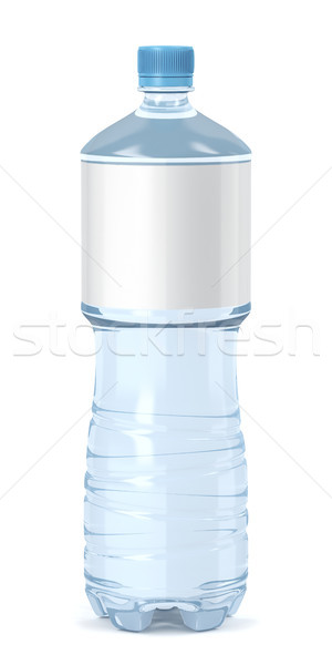 Water bottle on white background Stock photo © magraphics